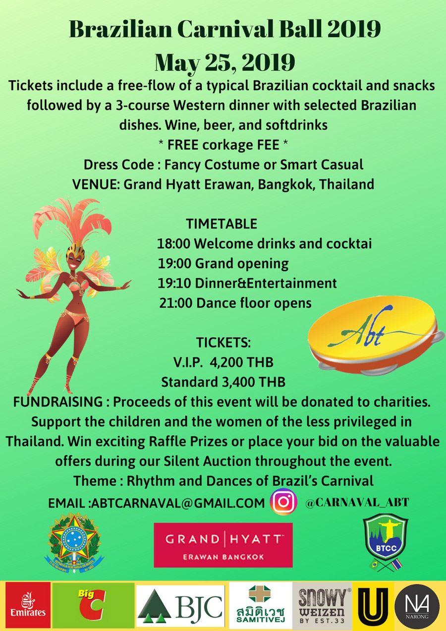 AWC Thailand - Brazilian Carnival Ball